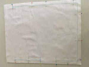 Doublure en coton blanc.