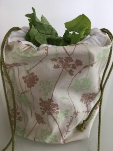 Grand sac salade.