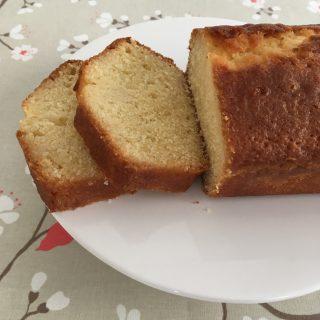 Cake moelleux au citron.