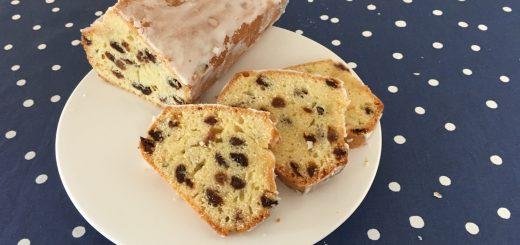 Cake raisins secs rhum.
