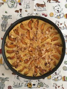 Clafoutis aux abricots.