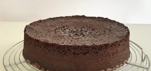 Gateau au chocolat cuit au micro ondes.