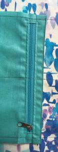 Detail de la poche.
