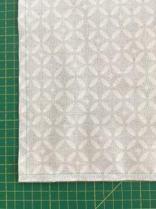 Assemblage du tissu