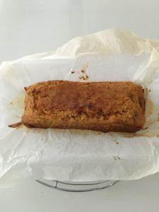 Carott cake seche sur grille