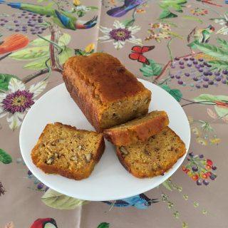 Carrot cake a la fleur d oranger sans gluten