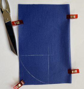 Plier sur la ligne et couper l arc.