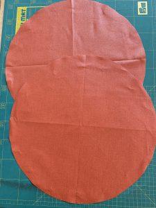 Les disques decoupes du sac polochon