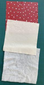 Les 3 pieces coupees du vide poche ou organiseur.