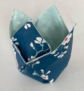 vide poches tulipes bleu