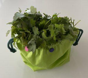 Petit sac a herbes