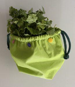 Petit sac pour herbes fines.