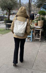 Sacola e mochila